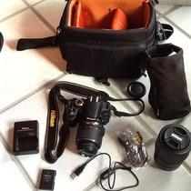 Camara Nikon Profesional Modelo D3200