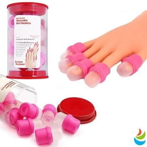 chupones para remover uas acrilicas gel resina