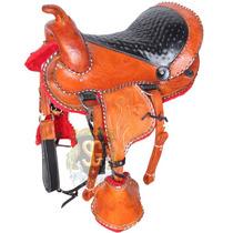 Sela Infantil Ponei Cavalo Couro Legítimo Completa - Oferta
