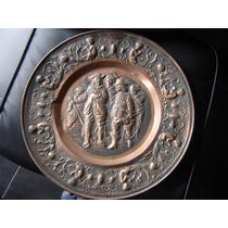 Platon Plato Decorativo Holandes Laton Bronce
