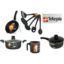 Set De Cocina Fary Home 4 Articulos + Accesorios