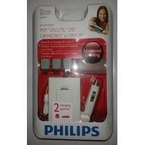Gba Sp: Carregador Original Philips Multi-aparelhos! Lacrado