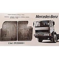 Tapete Borcol Cabine Caminhão Mercedes-benz 2 Peças