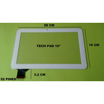 Touch Tablet 10 Tech Pad C1081hd C160259a1-drfpc160t-v1.0