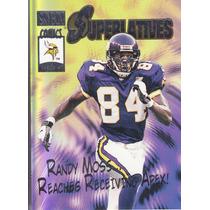2000 Skybox Superlatives Randy Moss Wr Vikings