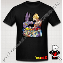Playera Goku Dragon Ball Pelicula Batalla De Los Dioses