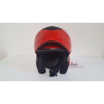 Casco Okn1 Rebatible Homologado.color Rojo.talle:l,xl Motos