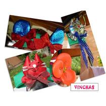 Vinchas Y Sombreros *brillocitos* (en Cba Y En Rosario) X10