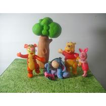 Adorno Para Torta Winnie Pooh Y Sus Amigos