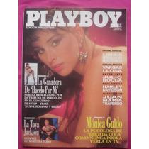 Revista Play Boy N° 77 1992 - Toya Jackson - Monica Guido