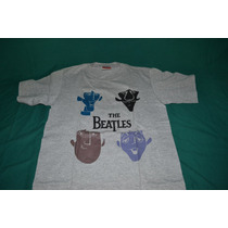 Playera The Beatles - Cartoon - Bajo Licencia De Winterland