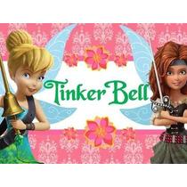 Kit Imprimible Tinker Bell Campanita Cotillón Invitaciones