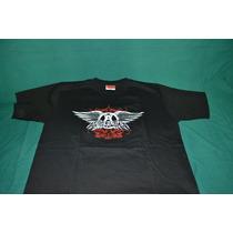 Playera Aerosmith - Logo - (bajo Licencia De Winterland)
