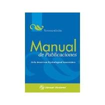 Libro Manual De Publicaciones *cj