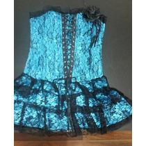 Vestido Gotico Dark Strapless