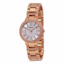 Reloj Fossil Virginia Gold Rose Es3284