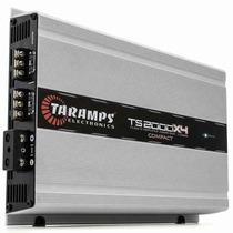 Amplificador Planta Taramps Ts 2000x4 2 Ohm 2000 Watts Rms