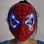 Máscara Spiderman Hombre Araña Led Halloween / V.virtualez