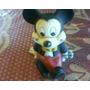 Antigua Figura De Goma Raton Mickey