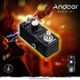 Pedal Efecto Distorsión Para Guitarra Negro Andoer Tc-13