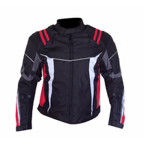 Chamarra Para Motociclista Caballero Furious Gp101 Roja