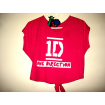 Camisa One Direction Talla M Juvenil