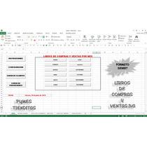 Libros De Compras Y Ventas Iva,plantillas En Excel