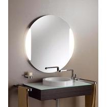 Espejo Redondo Sin Marco 90cm