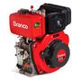 Motor À Diesel 10cv Partida Elétrica Bd-10.0 G2 Branco