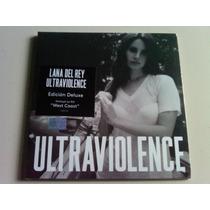 Lana Del Rey Ultraviolence Edicion Deluxe Cd Nuevo Nacional