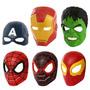 Mascara De Avenger Vengadores Hulk Capitan America Iron Man