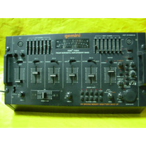 Mixer Gemini Pdm-7024 -semi-novo - Impecavel - Preamp. Sampl