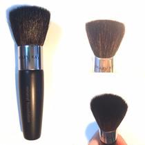 Pincel Para Base Em Pó Maquiagem Make Rosto Face Pele Bonita
