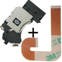 Combo Leitor Óptico Pvr 802w Ps2 Slim Unidade + Cabo Flat