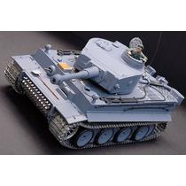 Tanque De Guerra Control Remoto Tiger Metal Tracks Hm4