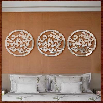 7829a100c Quadros Escultura Parede Espelho Trio Mandalas C  Ideogramas - R ...