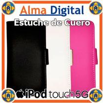 Estuche Cuero Ipod Touch 5g Forro Protector 5g Tipo Libreta