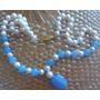 Collar De Perlas Naturales, De Cultivo