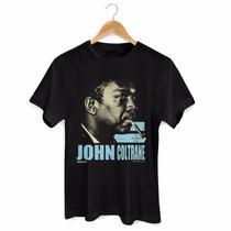 Camiseta Masculina John Coltrane The European Tour - Bandup!