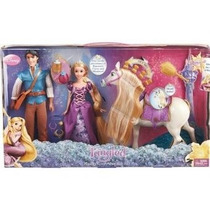Enredados / Rapunzel Set De Lujo Disney Muñecos