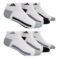 Calcetines Para Caballero Adidas 6 Pares Estilo 949985 Bco