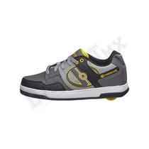 Heelys Flow 3. Zapatos Tenis Con Ruedas P/ Niño Y Adultos