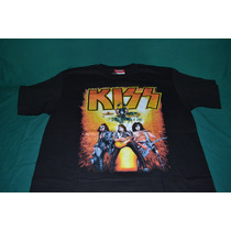 Playera Kiss - Tour - (bajo Licencia De Winterland)