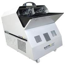 Maquina De Bolhas De Sabão 2 Discos Profissional C/ Controle