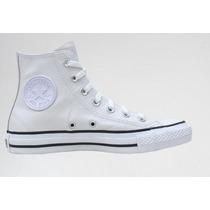 Converse All Star Bota Blanco Cuero!! Originales