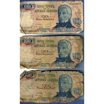 Billete 100 Cien Pesos Argentinos