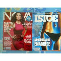 *jl 2 Revistas Nova Cosmopolitan Agosto 2011 + Isto É 2012*