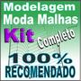 Modelagem Completa Roupa Malhas Camiseta Polo Regata Moldes