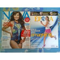 *jl 2 Revistas Nova Cosmopolitan Janeiro 2012 + Época 2012*