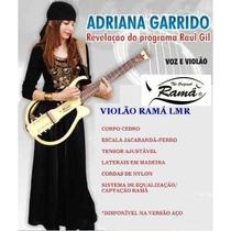 Violão Ramá Lmr Vazado Luthier Silent Guitar Elétrico